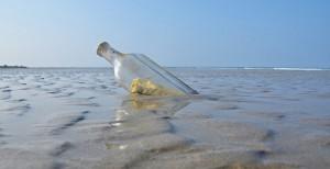 lâcher-prise: une bouteille à la mer